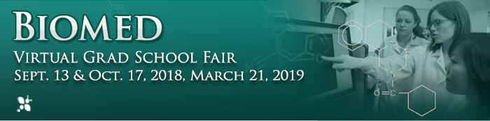 Image advertising Virtual Grad Fairs Oct 17, 2018 & March 21, 2019