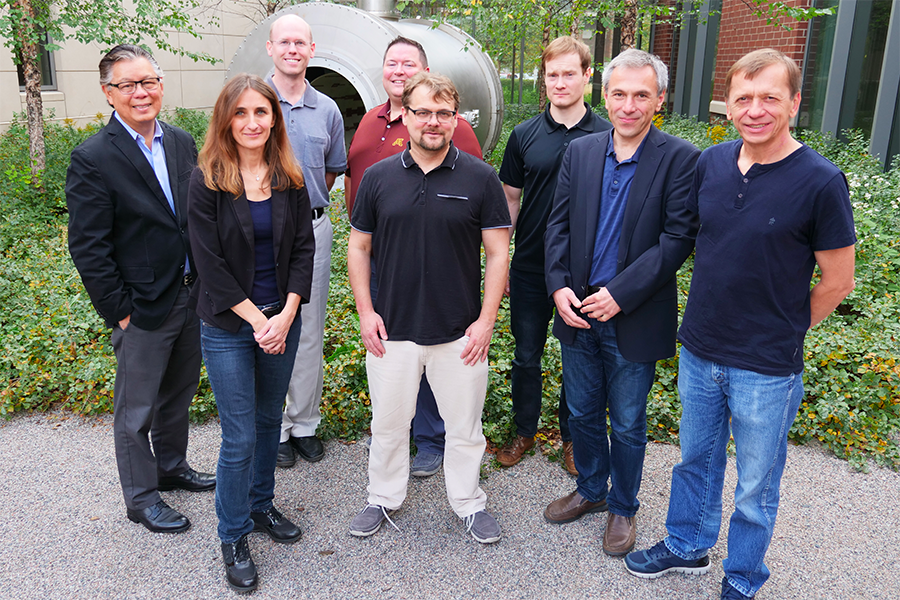 The CMRR team who will be completing the work into improvements to Deep Brain Stimulation