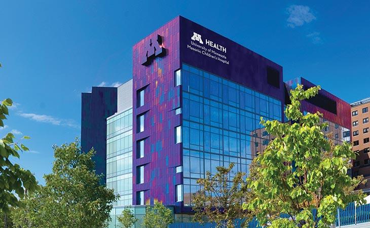 University of Minnesota Masonic Children's Hospital image