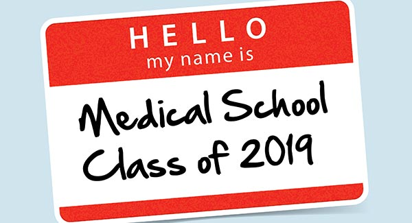 Class of 2019 name tag