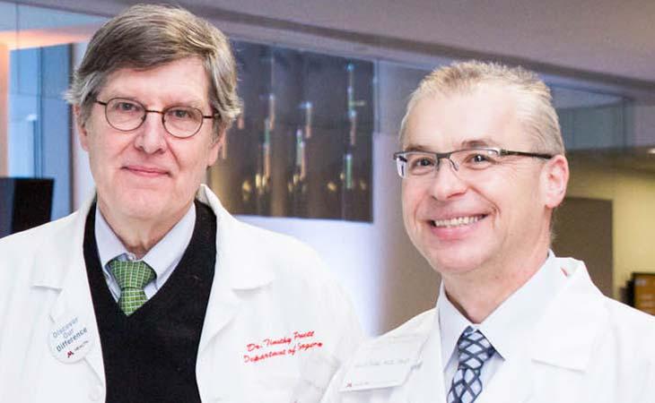 Timothy Pruett, M.D., and Jakub Tolar, M.D., Ph.D.