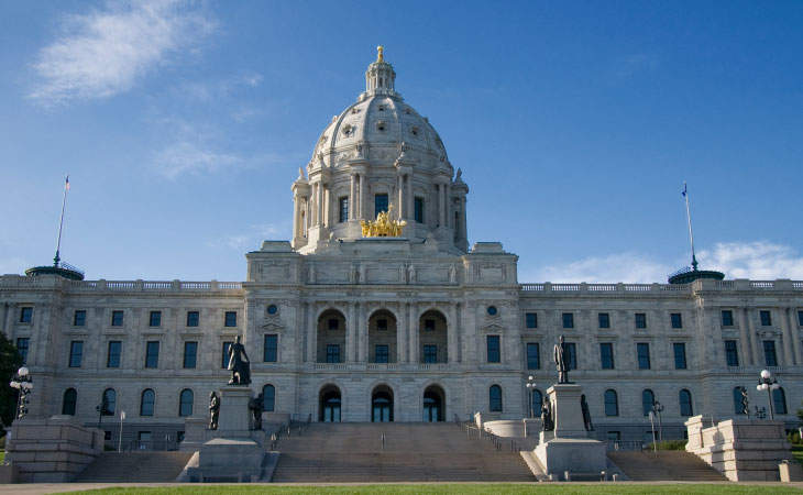 Photo of the minnesota capital building