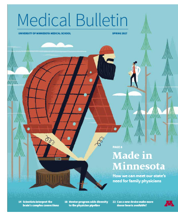 Medical Bulletin Spring 2017 cover