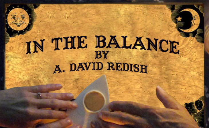 """Image of  """"In the balance"""" book cover"""