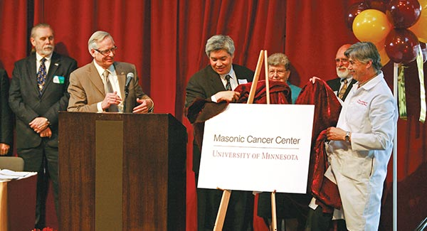 A Look Back Masonic Cancer Center celebrates 25 years