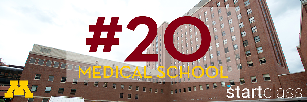 Ranked #20 Medical School in the Nation