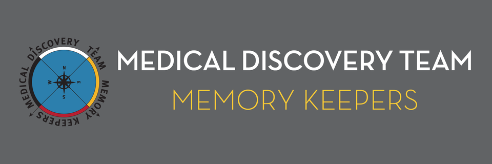 Memory Keepers Medical Discovery Team