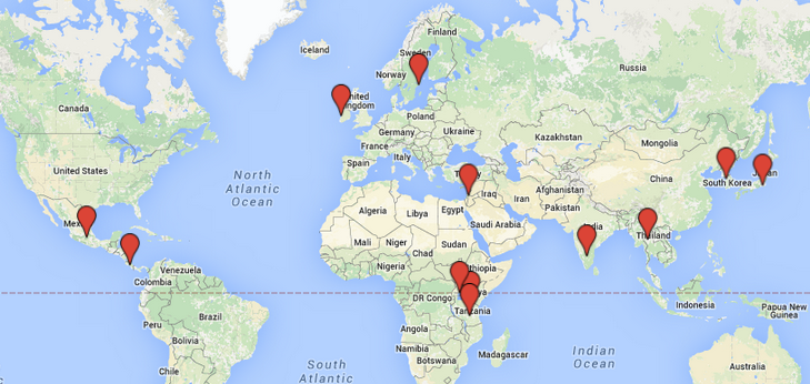 Global Medical Education And Research Program Medical School - Map of medical schools in the us