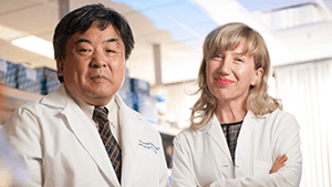 two u of m cancer researchers