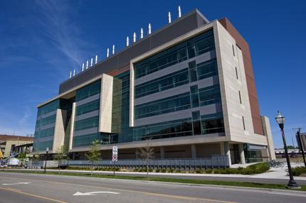 Image of the Wallin Medical Bioscience Building